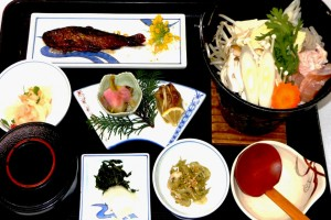 名物きじ鍋定食